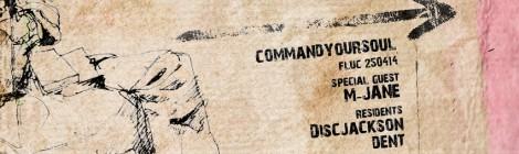 commandyoursoul @fluc - Special Guest DJ M-Mjane