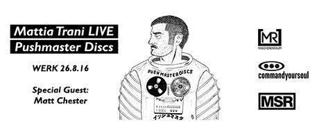 26 08 16 MATTIA TRANI Live - presented by commandyoursoul & maschinenraum & minimalsoul